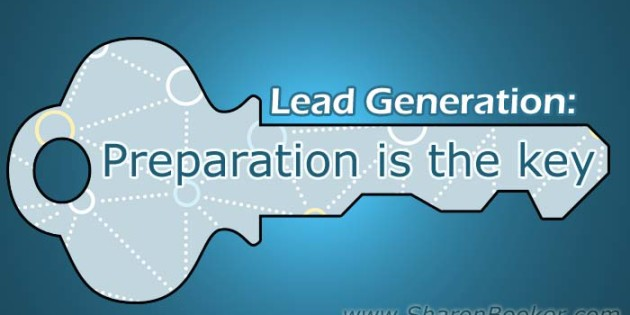 lead generation preparation is the key